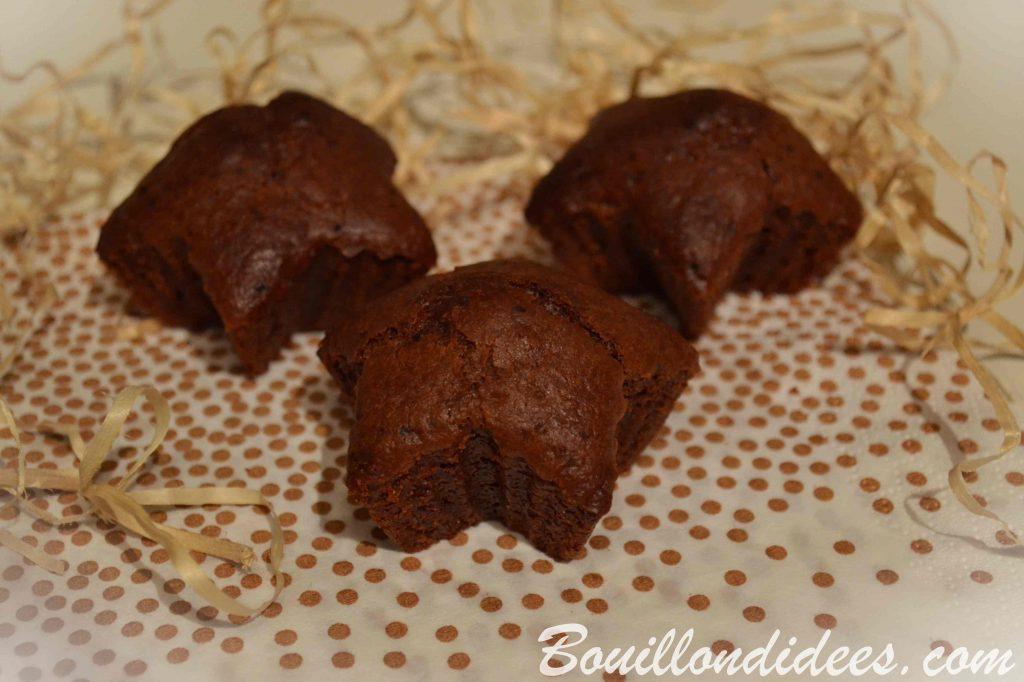 Petits gâteaux moelleux sans GLO (sans Gluten, sans Lait, sans Oeuf) à la farine de châtaignes - vegan - Bouillondidees