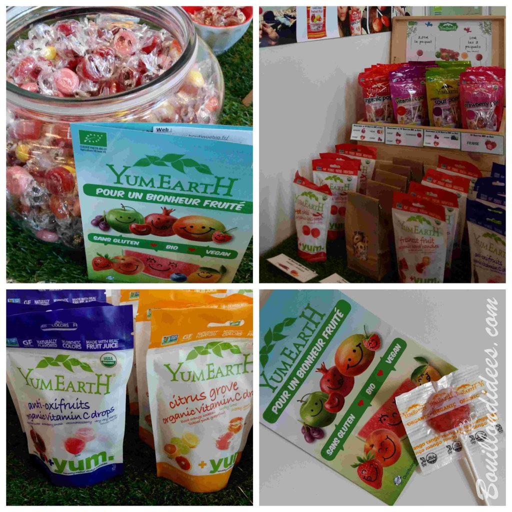 Mon TOP 10 de produits sans gluten & cie, du SAAPS 2017 (Salon des Allergies Alimentaires et des produits Sans) bonbons sucettes YumEarth
