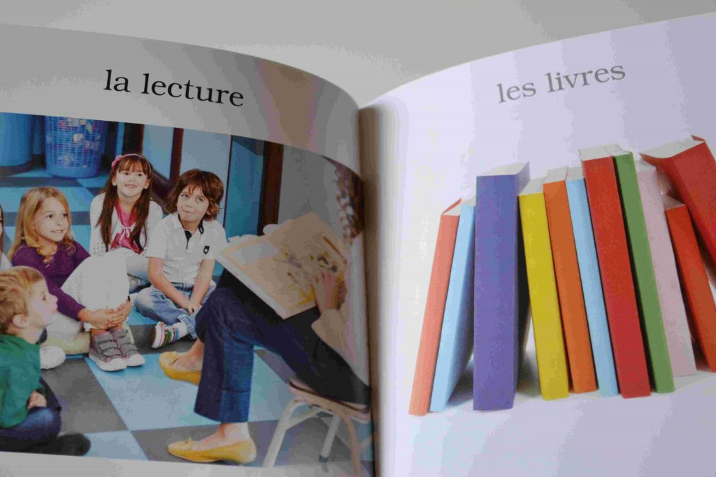 Nos idées lecture : la rentrée scolaire : Mon mini imagier de l'école maternelle (Larousse) (Chut les enfants lisent)