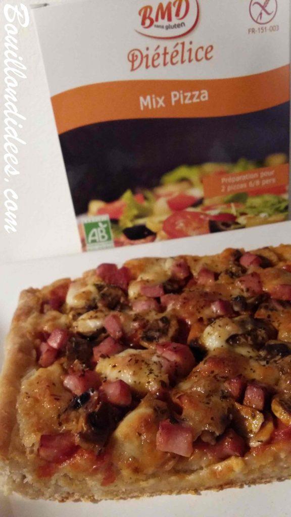 MIX Farines BMD sans Gluten Pizza moelleuse sans GLO (sans gluten, sans lait, sans œuf) blog Bouillon d'idées