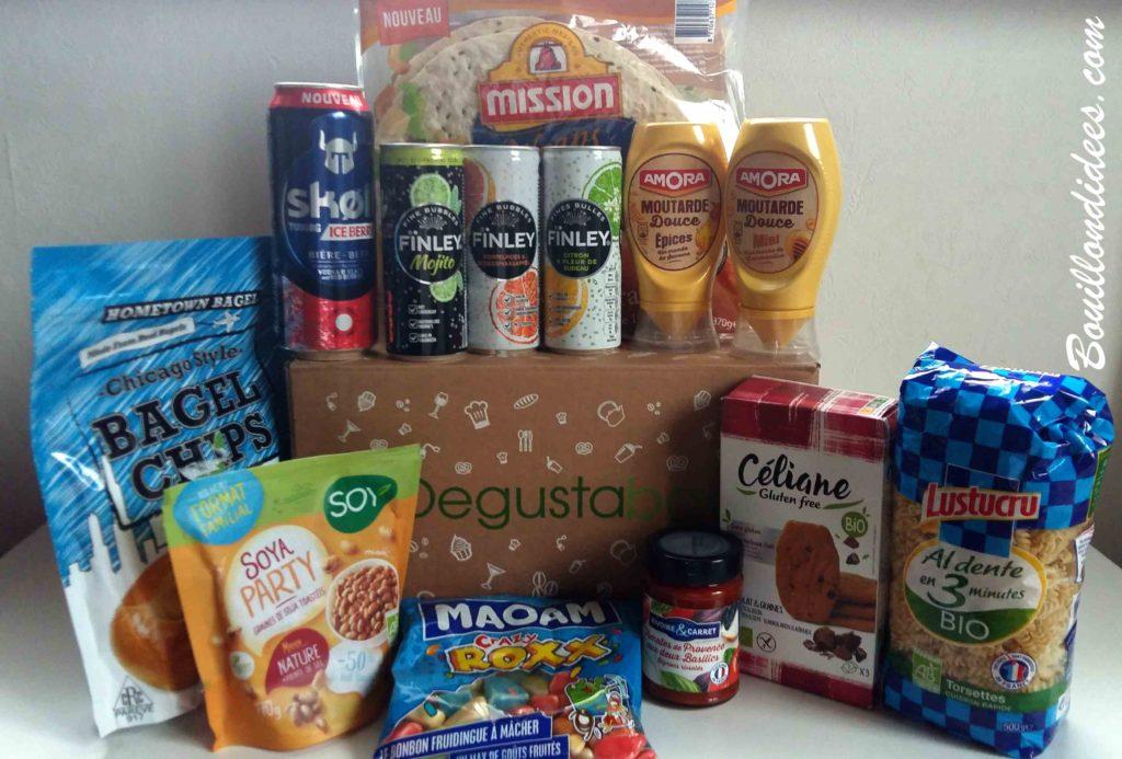 Degustabox : la box gourmande qui met toute la famille d'accord - Bouillon d'idées