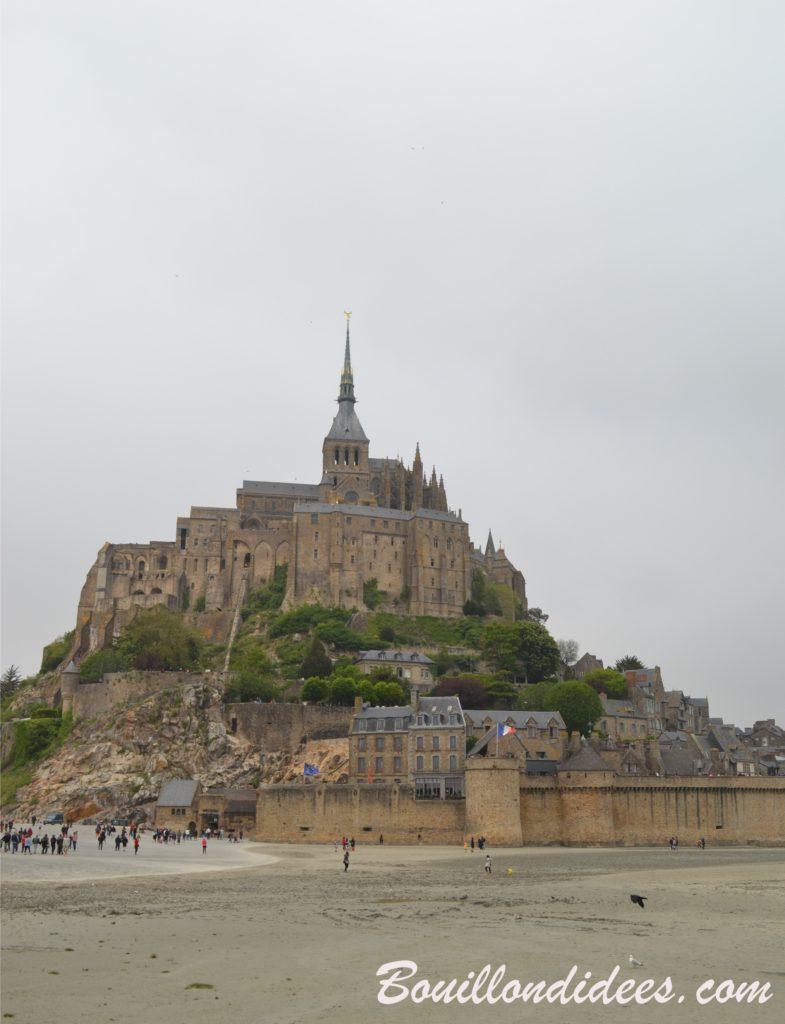 Un séjour en Bretagne sous le soleil (et sans gluten !) - Mont Saint Michel - blog Bouillondidees