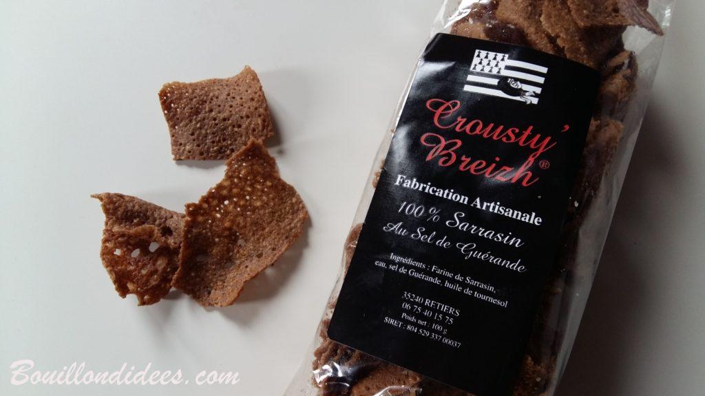 Un séjour en Bretagne sous le soleil (et sans gluten !) - galette sarrasin sans gluten sans oeuf Crousty Breizh - blog Bouillondidees