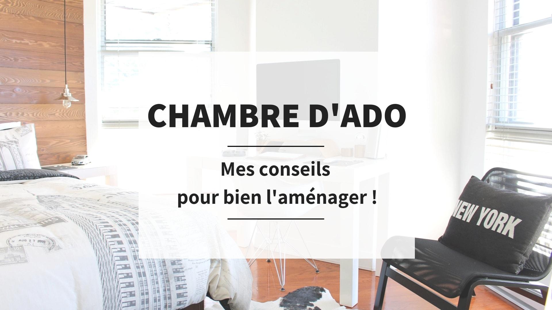 Idee Deco Chambre Londres chambre d'ado, comment bien l'aménager ? - bouillon d'idées