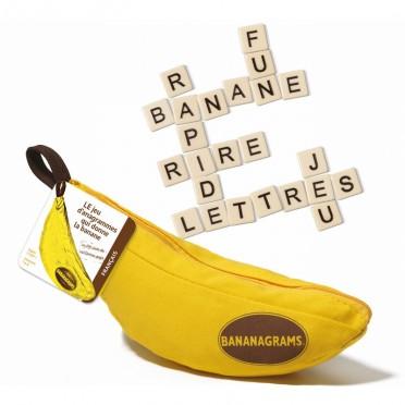 jeu de lettres Bananagrams - Mon Top Cadeaux de Noël 2018, pour garçons 8-10 ans - blog Bouillon d'idées