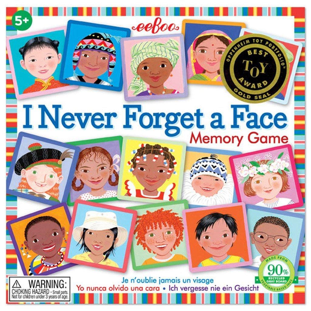 Grand Memory « je n'oublie jamais un visage » (eeBoo) - Mon Top Cadeaux de Noël 2018, pour filles 3-5 ans - Blog Bouillondidees