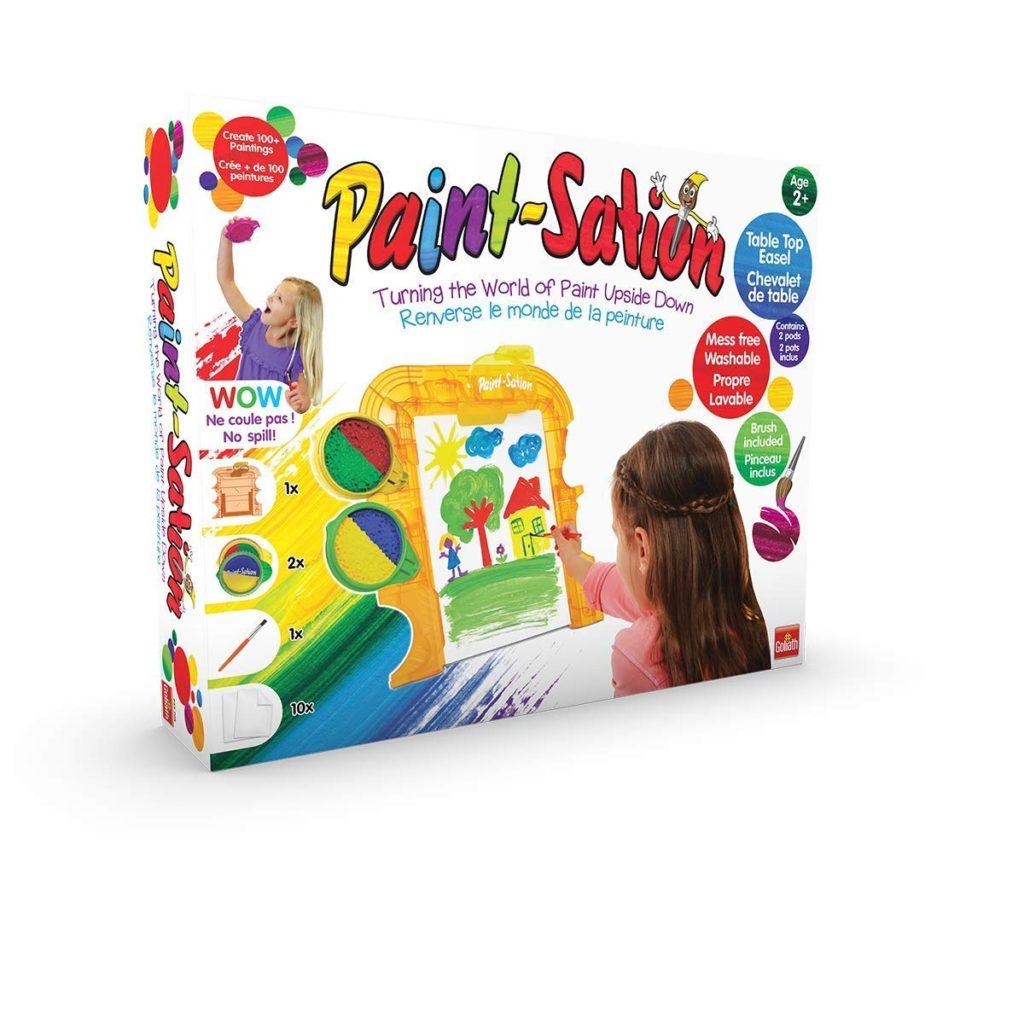 Paint station (Goliath) - Mon Top Cadeaux de Noël 2018, pour filles 3-5 ans - Blog Bouillondidees