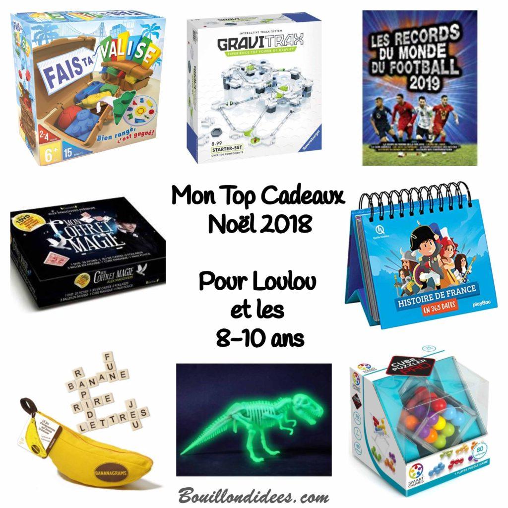 Mon Top Cadeaux de Noël 2018, pour garçons 8-10 ans - blog Bouillon d'idées