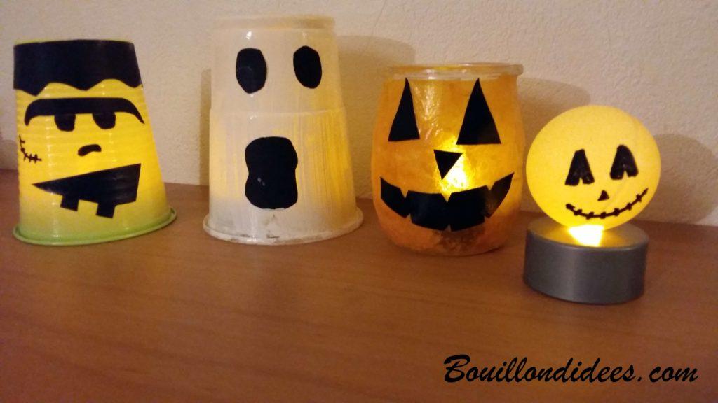 DIY Halloween : créer des petits monstres lumineux
