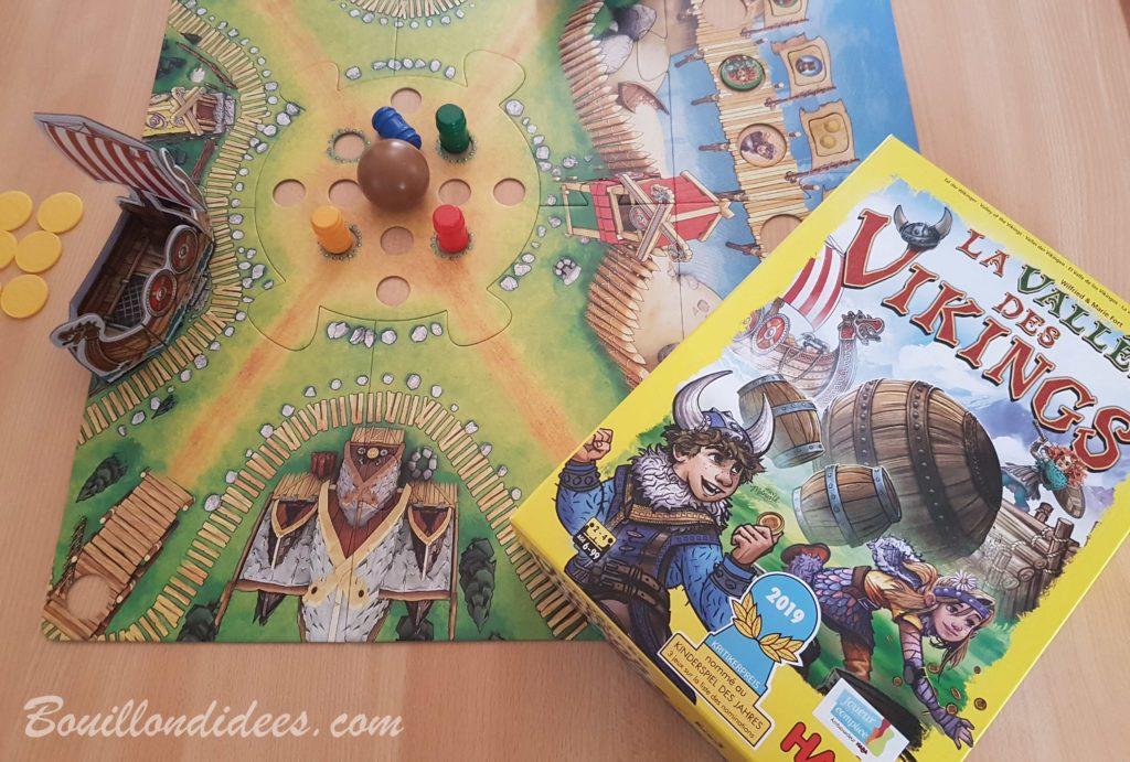 La Vallée des vikings, jeu de collecte palpitant chez Haba - Bouillondidees