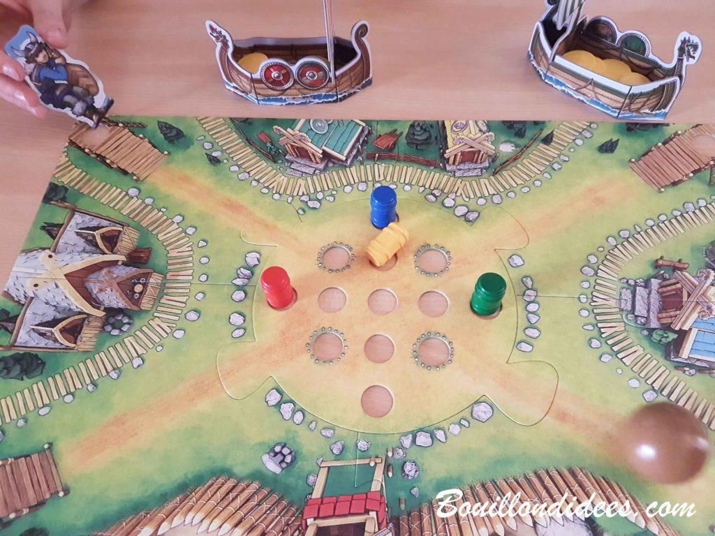 La Vallée des vikings, jeu de plateau et de bowling Haba - Bouillondidees