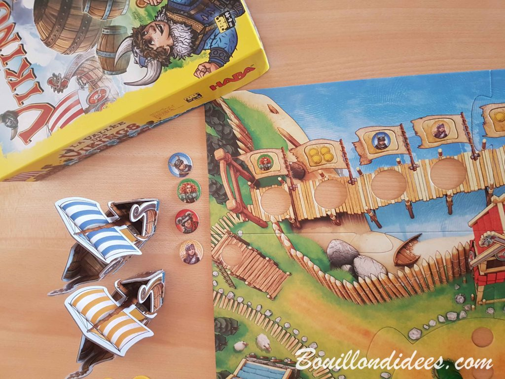 La Vallée des vikings, jeu de Haba - Bouillondidees