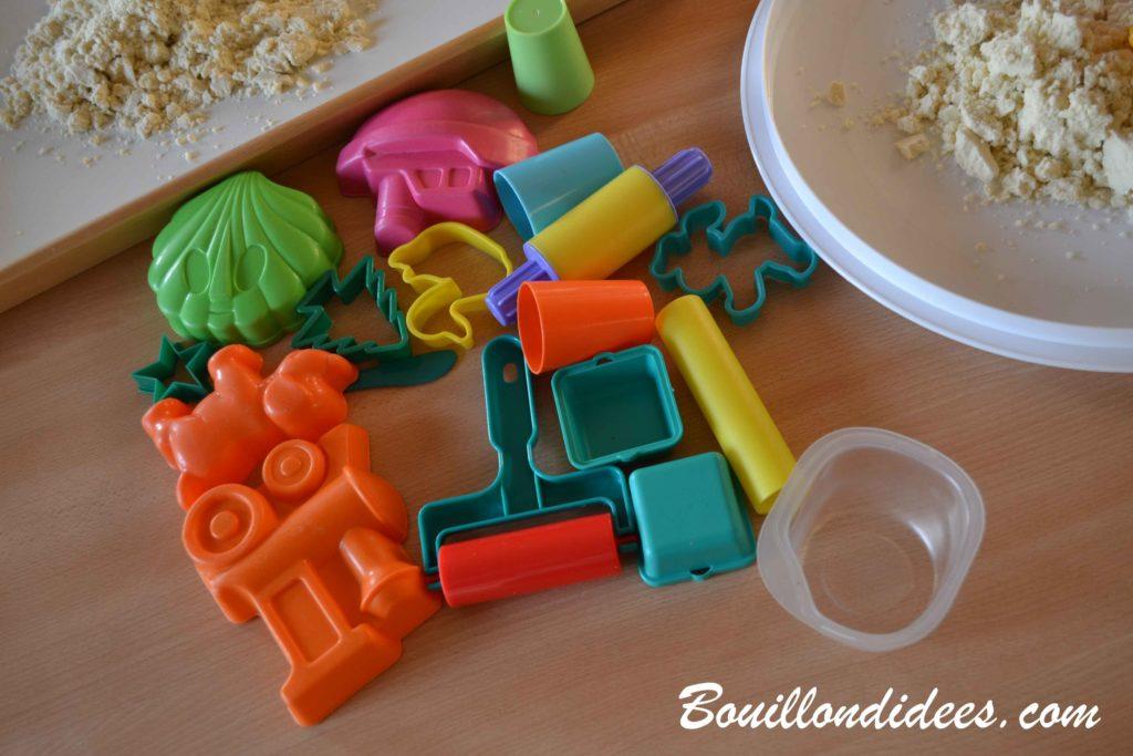 Fabriquer du sable magique maison