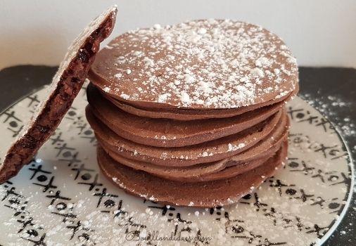 recette vegan et sans gluten Pancakes chocolat