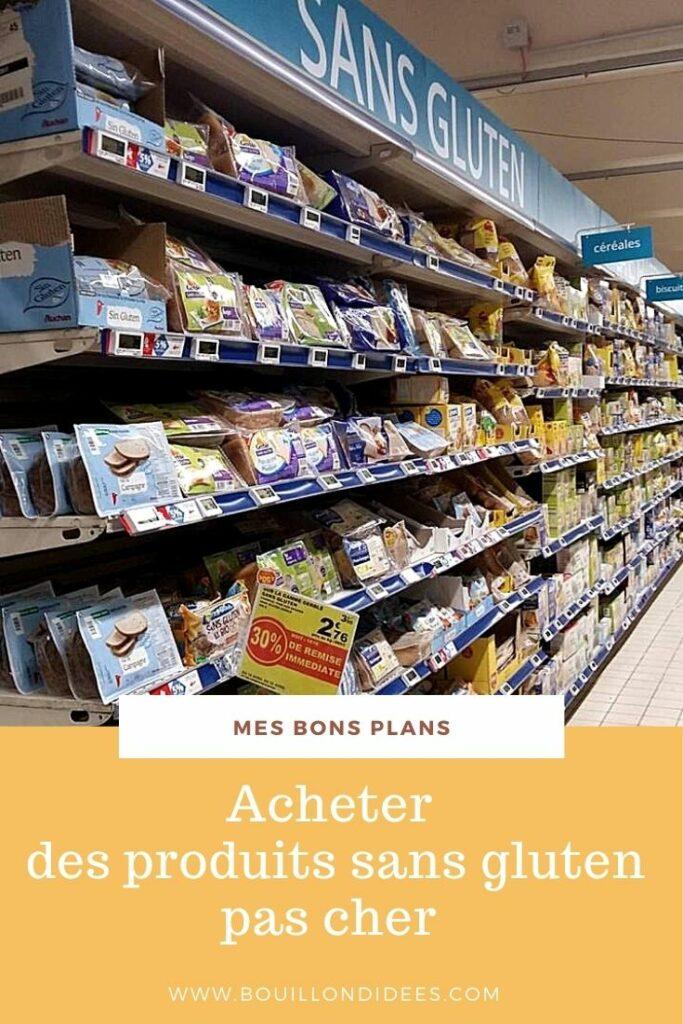 Acheter des produits sans gluten moins cher