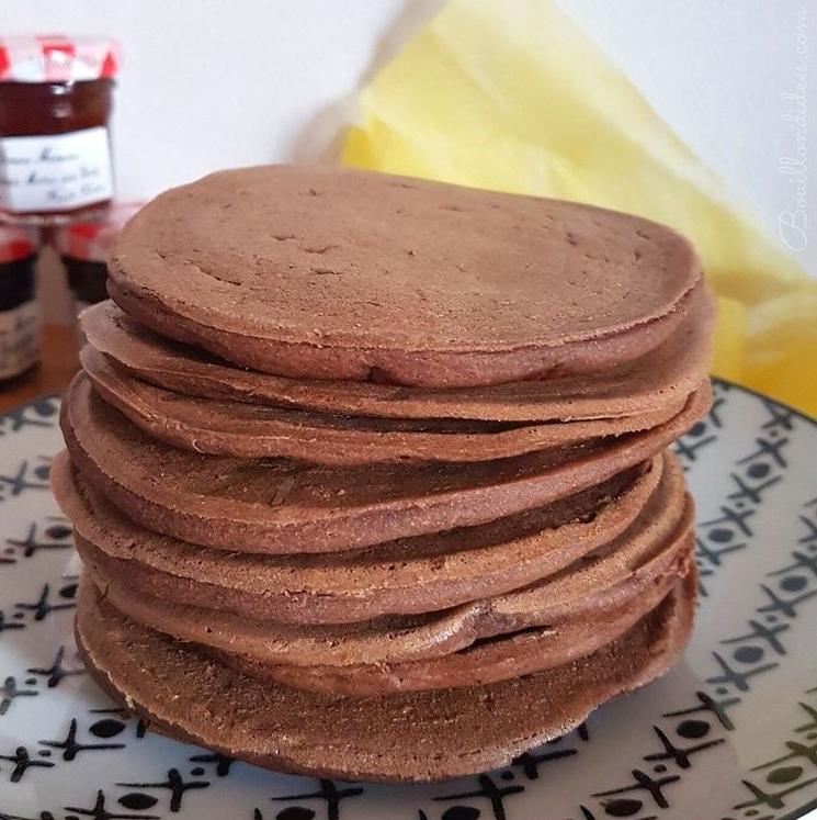 Recette de Pancakes vegan et sans gluten