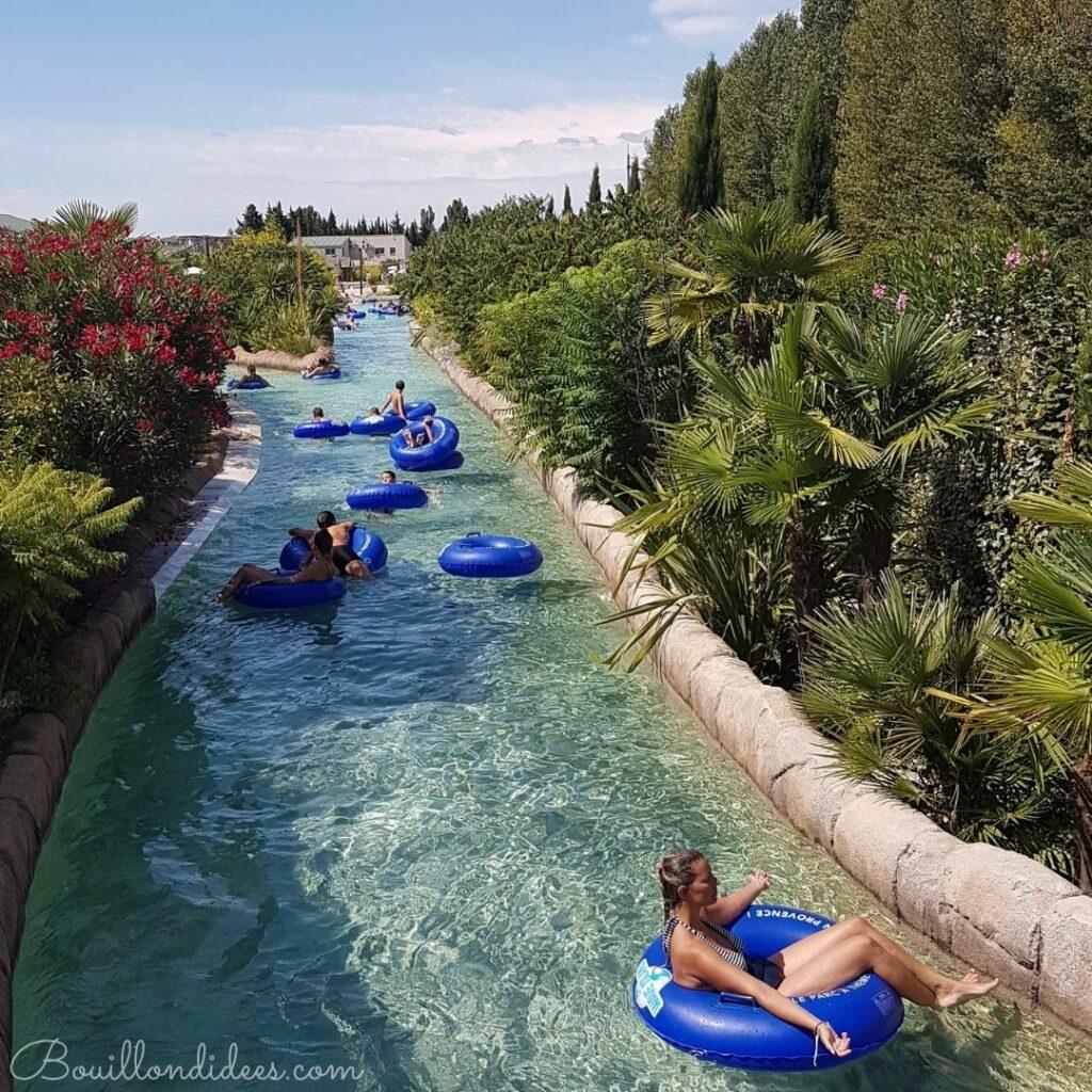 Wave Island, le parc aquatique de Provence à faire en famille  : la rivière tropicale